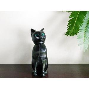 ボビングアニマル ドイツの首ふり人形 黒猫 desklabo