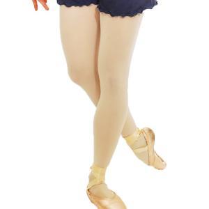 バレエ タイツ 大人 ベージュ穴あきタイツ 日本製 ドゥッシュドゥッスゥ