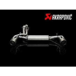 FIAT アバルト 500 / 500C用 Akrapovic Slip-ON System|destino-rc