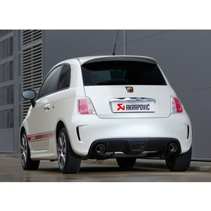 FIAT アバルト 500 / 500C用 Akrapovic Slip-ON System|destino-rc|03