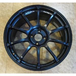 FIAT アバルト 500用(欧州車用)ADVAN RACING RSII SEMI GLOSS BLACK|destino-rc|02