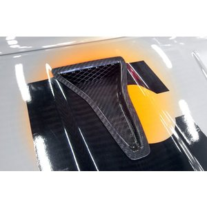 FIATアバルト500用 サジターリオ製 カーボンNASAダクト|destino-rc