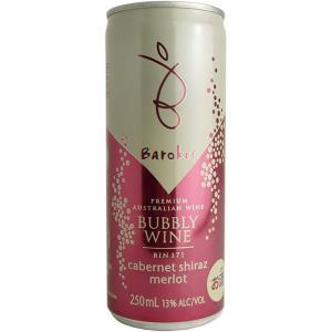 バロークス スパークリング缶ワイン カベルネ・シラーズ・メルロ|deuxhwine
