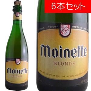 モアネット・ブロンド デュポン 750ml(ベルギービール 6本セット)【納期:3日〜約2週間後に発送】 deuxhwine