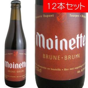 モアネット・ブラウン デュポン 330ml(ベルギービール 12本セット)【納期:3日〜約2週間後に発送】 deuxhwine