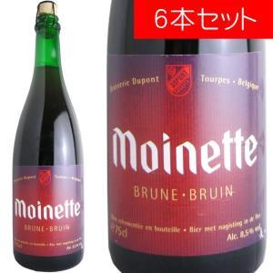 モアネット・ブラウン デュポン 750ml(ベルギービール 6本セット)【納期:3日〜約2週間後に発送】 deuxhwine