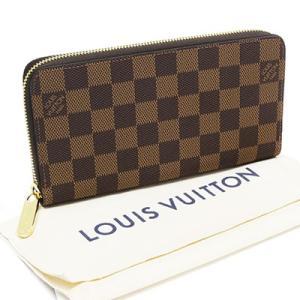 LOUIS VUITTON ルイヴィトン N41661 ジッピー・ウォレット ダミエ・エベヌ|deva-online