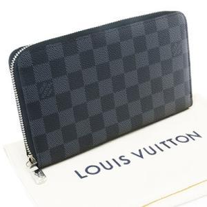 LOUIS VUITTON ルイヴィトン N60111 ジッピー・オーガナイザーNM ダミエ グラフィット ラウンドファスナー 財布|deva-online