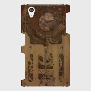 スチームパンク 古時計 gear 001 Android アンドロイド スマホケース ハードケース|dezagoods