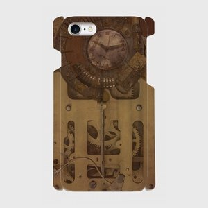 スチームパンク 古時計 gear 001 iPhone アイフォン スマホケース ハードケース|dezagoods