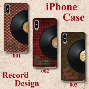 レコード レトロ柄 LP 1970年代 音楽 ビンテージ調 iPhone アイフォン スマホケース ハードケース|dezagoods