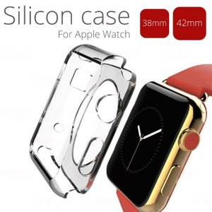 アップルウォッチ ソフト カバー 透明 Apple Watch  TPU ケース クリア 38mm/42mm|dezicazi