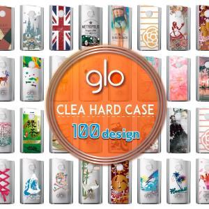 グロー ケース グローケース glo ケース [商品説明] 貼り付け簡単glo(グロー)専用ハードケ...