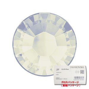 スワロフスキー クリスタル 正規品 ホワイトオパール (234) 2058 XILION Rose [SS7] 1440pcs|dezicazi