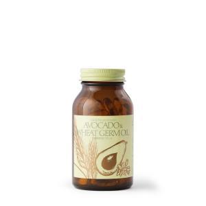 送料無料 ビタミンE アボガド ウィートジャームオイル サプリメント 小麦胚芽|dfc-net