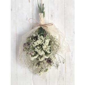 ドライフラワー花束 スワッグ 壁飾り インテリアに