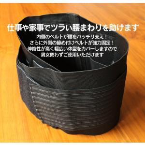腰痛ベルト/コルセット/腰サポーター/腰の痛み...の詳細画像2