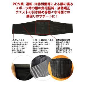 腰痛ベルト/コルセット/腰サポーター/腰の痛み...の詳細画像3