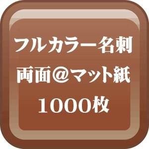 格安カラー名刺印刷-両面 マット紙名刺 1000枚 (送料無料)|dgmode