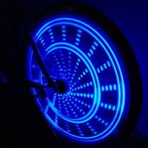Anvii 自転車用LEDワイヤレスホイールライト3本セット(ブルー)|dgmode