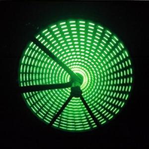 Anvii 自転車用LEDワイヤレスホイールライト3本セット(グリーン)|dgmode