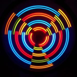 Anvii 自転車用LEDワイヤレスホイールライト3本セット(レインボー)|dgmode