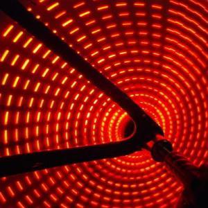 Anvii 自転車用LEDワイヤレスホイールライト3本セット(レッド)|dgmode