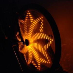 Anvii 自転車用LEDワイヤレスホイールライト3本セット(エイロー)|dgmode