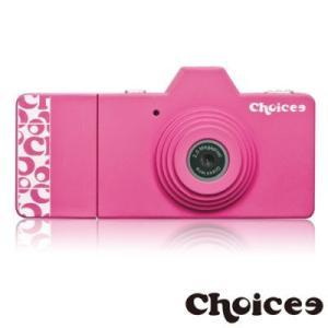 Choicee ミニトイデジタルカメラ (ピンク) 8GB Micro SD カード付属 dgmode