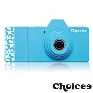 Choicee ミニトイデジタルカメラ (ブルー) 8GB Micro SD カード付属  dgmode