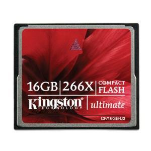 Kingston(キングストン) コンパクトフラッシュ(CFカード)メモリーカード 16GB (266倍速)|dgmode