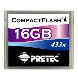 Pretec コンパクトフラッシュ(CF) カード 16G  433倍速|dgmode