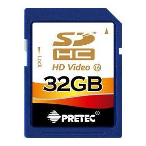 PRETEC  SDHC  メモリーカード32G (class16) dgmode