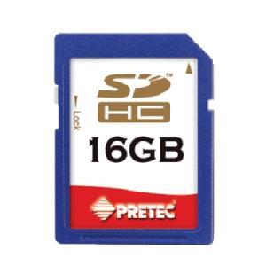 PRETEC SDHC メモリカード 16GB class6 dgmode