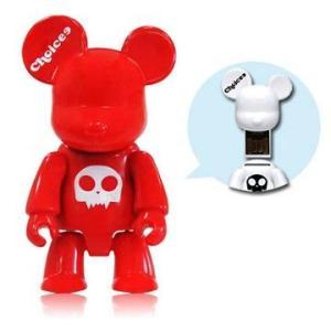 Choicee X  Qee  Bear USB フラッシュメモリ   16GB (レッド)|dgmode