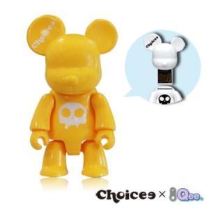 Choicee X  Qee  Bear USB フラッシュメモリ   16GB (イエロー)|dgmode