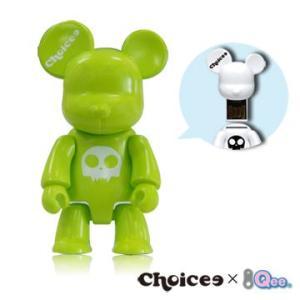Choicee X  Qee  Bear USB フラッシュメモリ   16GB (グリーン)|dgmode