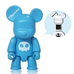 Choicee X  Qee  Bear USB フラッシュメモリ   32GB (ブルー)|dgmode