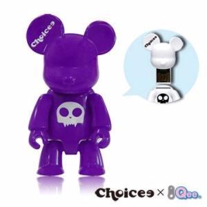 Choicee X  Qee  Bear USB フラッシュメモリ   16GB (パープル)|dgmode