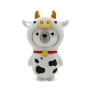 PRETEC  Kappi  Dress-up  USBフラッシュメモリー   16GB  (Cow)|dgmode