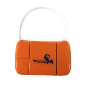 Doocoo ドックコネクター、USBコネクターとmicro USB コネクターケーブルセット (オレンジ) dgmode