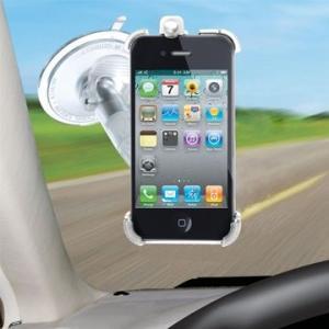 iMount ドイツ製 iPhone4G専用の車内マウント/ホルダー(360度回転) dgmode
