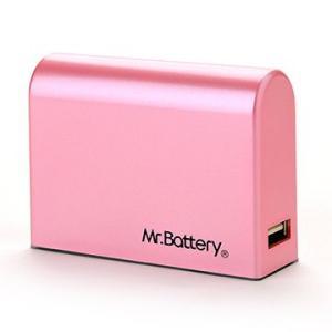 Mr. Battery  SD-2  6000mAh モバイル パワー  携帯充電器 (ピンク) dgmode