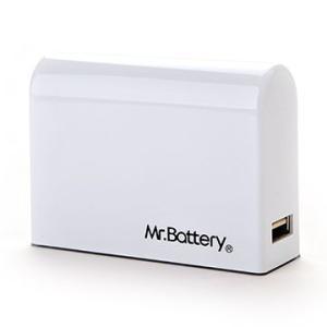 Mr. Battery  SD-2  6000mAh モバイル パワー  携帯充電器 (ホワイト) dgmode