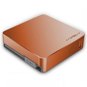 Mipow Power cube 5200モバイル パワー  携帯充電器 (オレンジゴールド) dgmode