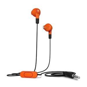 Motorola Earbuds インイヤー ヘッドセット・イヤホンマイク (orange) dgmode