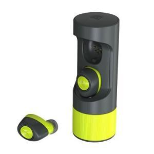 MOTOROLA(モトローラ)Verve Ones+ Music Edition(バーブワンプラスme) 防水耳栓式Bluetooth ヘッドセット  (ブラック/ライム)「特価セール」|dgmode