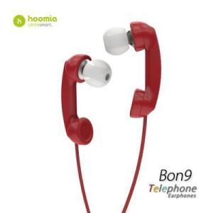 Hoomia  Bon9  Telephone 受話器型ヘッドセット (レッド )|dgmode