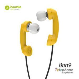 Hoomia  Bon9  Telephone 受話器型ヘッドセット (イエロー )|dgmode