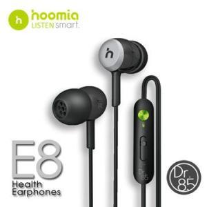 Hoomia E8  カナル型ステレオイヤホン(ブラック)|dgmode